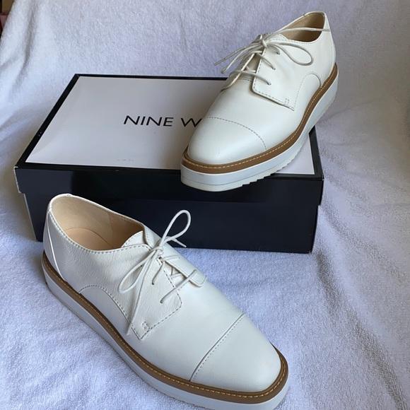 Nine West Genuine leather platform shoes